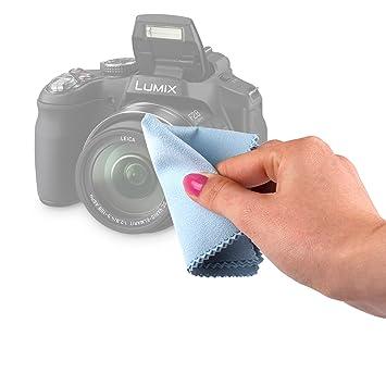 DURAGADGET Gamuza Limpiadora para Cámara Kodak AZ421, AZ526, FZ201 ...