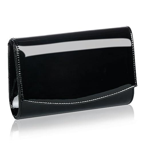 Women Patent Leather Wallets Fashion Clutch Purses ff3e1c70b