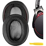 Geekria QuickFit Protein Leather Ear Pads for Sony MDR-1ABT, MDR-1RBT, MDR-1RNC Headphones, Replacement Ear Cushion/Ear…
