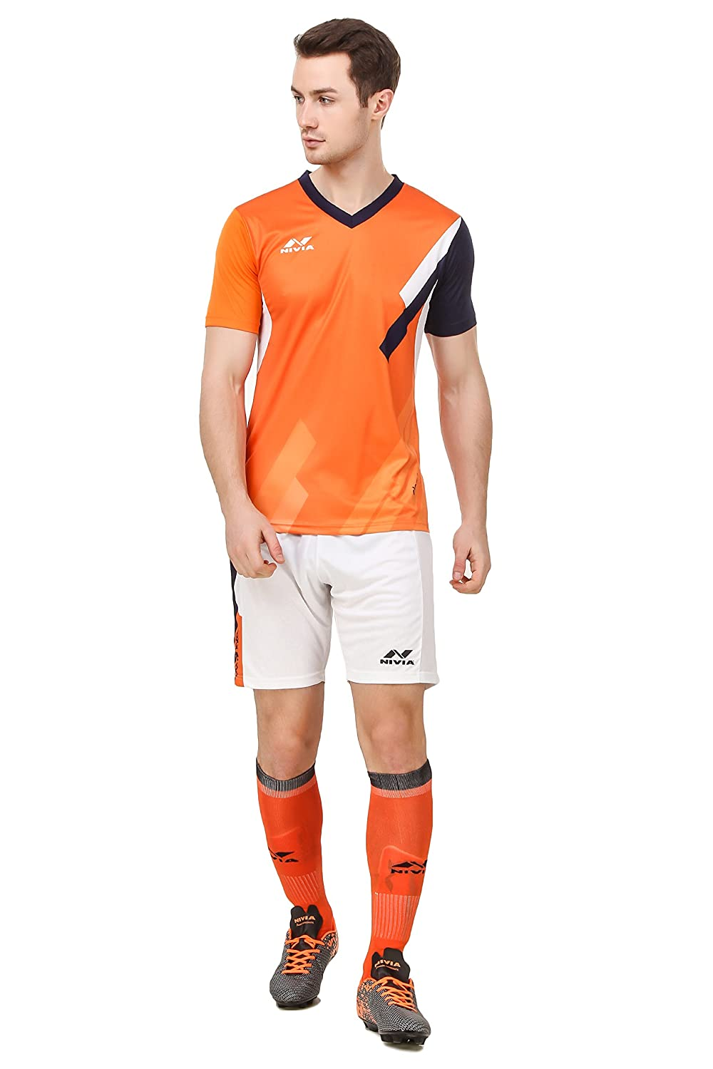 Buy Nivia Polyester Radar Football Jersey Set Online at Low Prices ... 2bbfb2b12