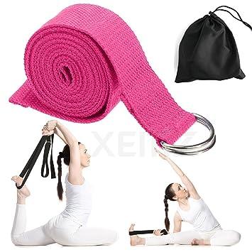 Correa de Yoga, Correas de Ejercicio de Algodón, Cinturón de ...