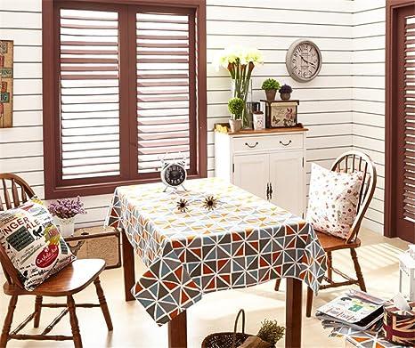 HJHET La mesa de comedor moderno minimalista nórdico paño viento ...