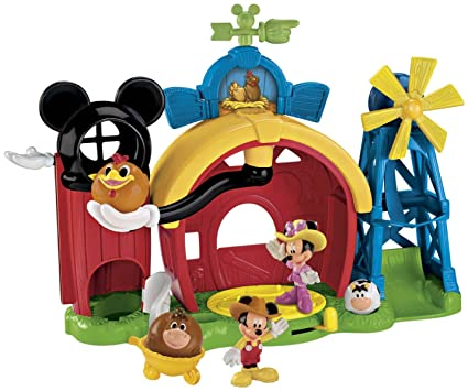 Fisher Price Disney S Mickey Mouse Farm Playset