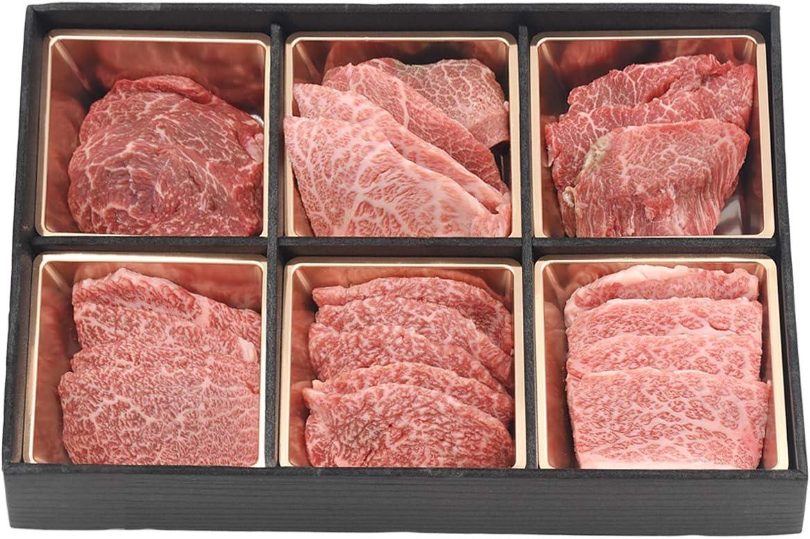 松阪牛 焼肉 A5等級 希少部位 6種 食べ比べ 焼肉セット