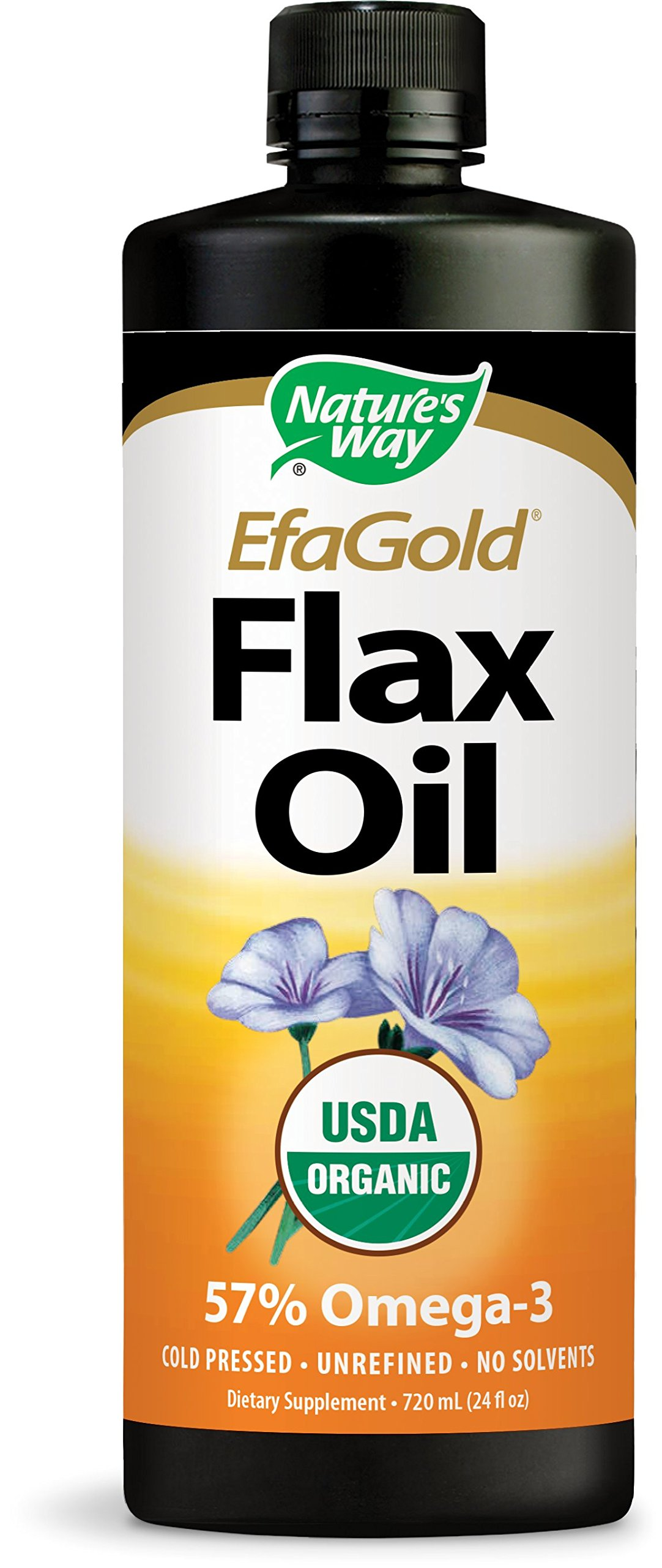 Nature's Way EfaGold Flax Oil USDA Organic, 24 Fl. Oz. by Nature's Way