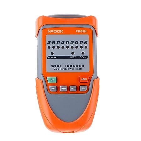 Tutoy Eivotor Rj45 Rj11 Teléfono Teléfono Cable Tracker Ethernet Red LAN Cable Tester: Amazon.es: Hogar