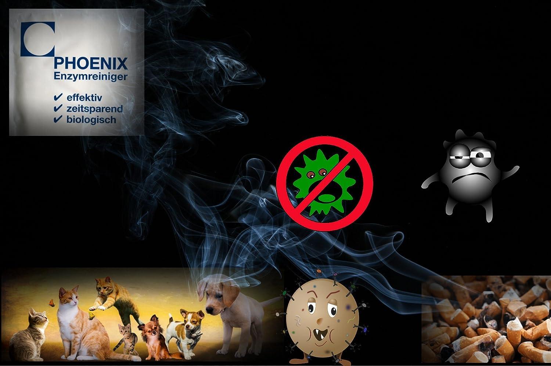 Limpiador enzimático olor matainsectos - Allround olores y eliminador de olores 5 x 20 bolsas de talla sello 5,0 - 7,5 L, 100% Biodegradable orina olor, ...