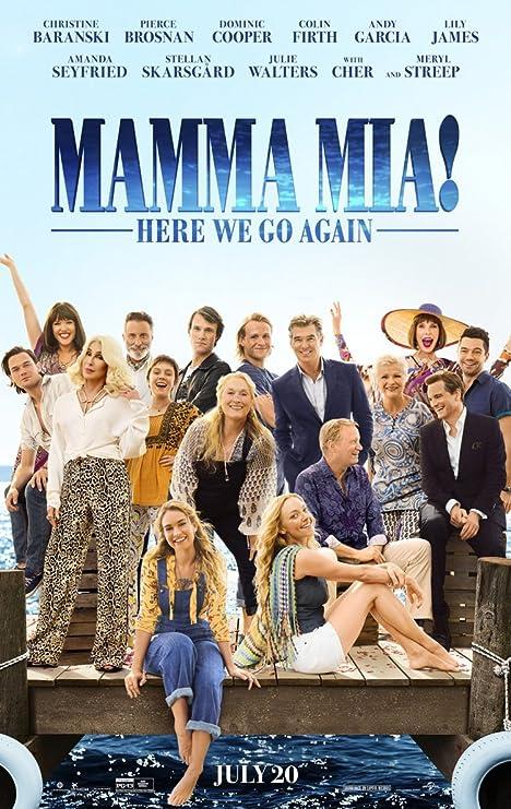 Póster De Película Mamma Mía Aquí Vamos Otra Vez Película Original De 2 Caras 27 X 40 Lily James Everything Else