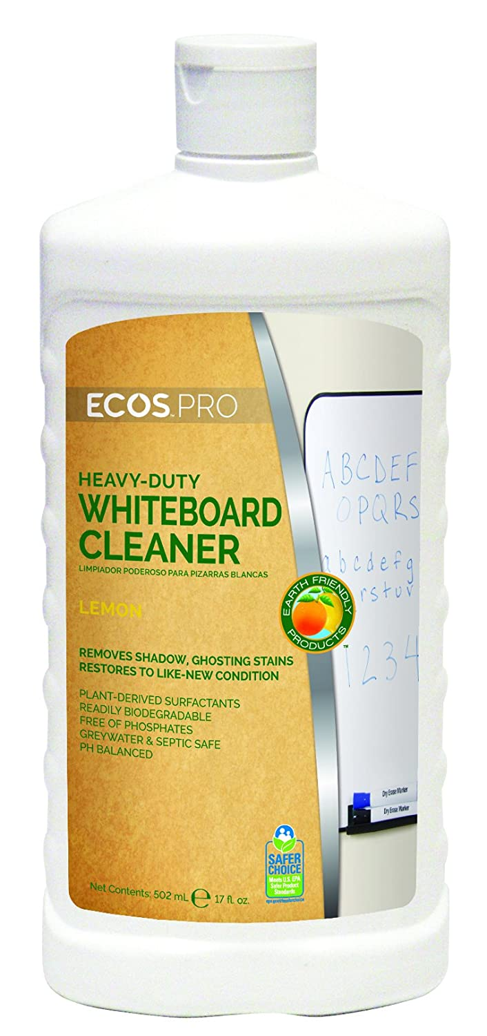 Earth Friendly Products PL9868/6 Heavy Duty Whiteboard Cleaner, 17 oz Bottle (Case of 6)