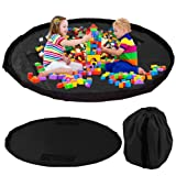Children's Toy Storage Bag – Opens to 150cm Play Mat – Ideal Portable and Practical Storage Solution this Christmas