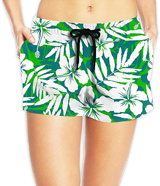 SARA NELL Mens Swim Trunks Summer Vacation Hawaii Hawaiian Pattern Surfing Beach Board Shorts Swimwear