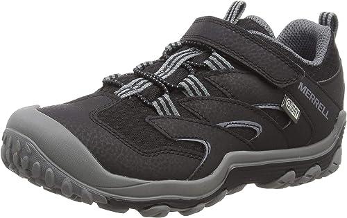 Merrell M-Chameleon 7 Low a/C Waterproof, Zapatillas de Senderismo Unisex Niños, Negro (Black/Grey), 35 EU: Amazon.es: Zapatos y complementos