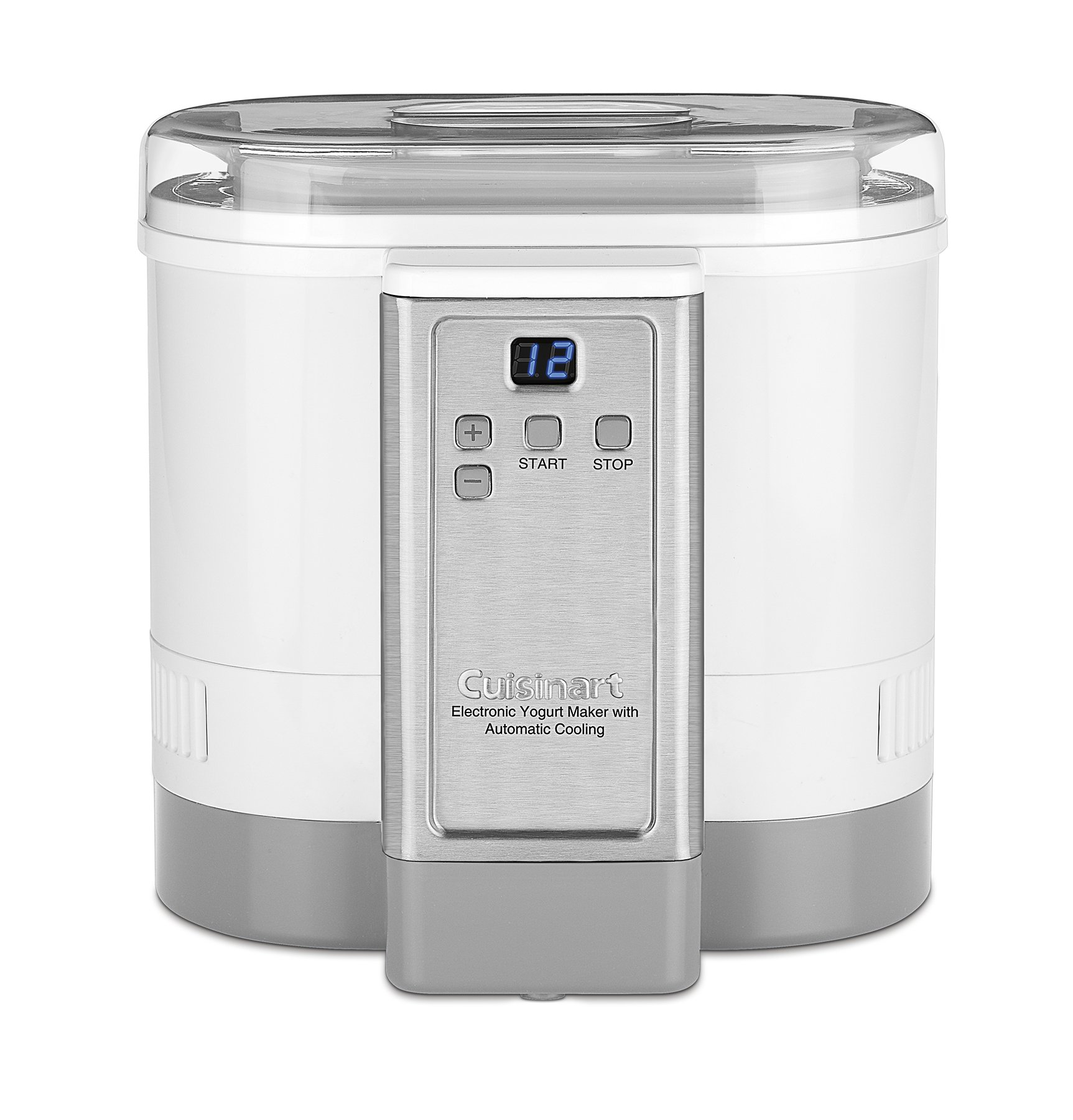 Cuisinart CYM-100 Electronic Yogurt Maker with Automatic Cooling,3.12lb Jar capacity,(1.5L) by Cuisinart