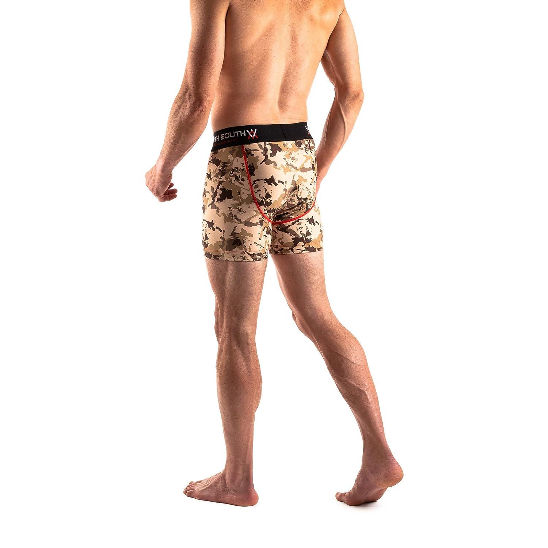 2 or 3 Pack Grappling Compression Mens Athletic Underwear//Shorts by North South Jiu-Jitsu