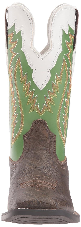 3bbafa0f315 Ariat Kids' Buscadero-K Western Boot, Tan Elephant Print/Clover ...