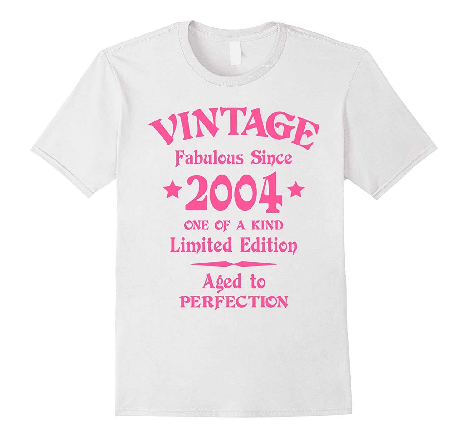 12th Birthday Gift T-Shirt Vintage 2004 Pink-CL