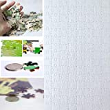 20 Sets Blank Sublimation A4 Jigsaw Puzzle with 120 Pieces DIY Heat Press Transfer Crafts A4 Thermal Transfer Puzzle Wholesal