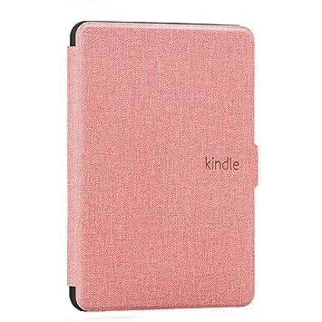 DATOUDATOU Kindle 8 E-Reader Caso PU Cubierta de Silicona para ...