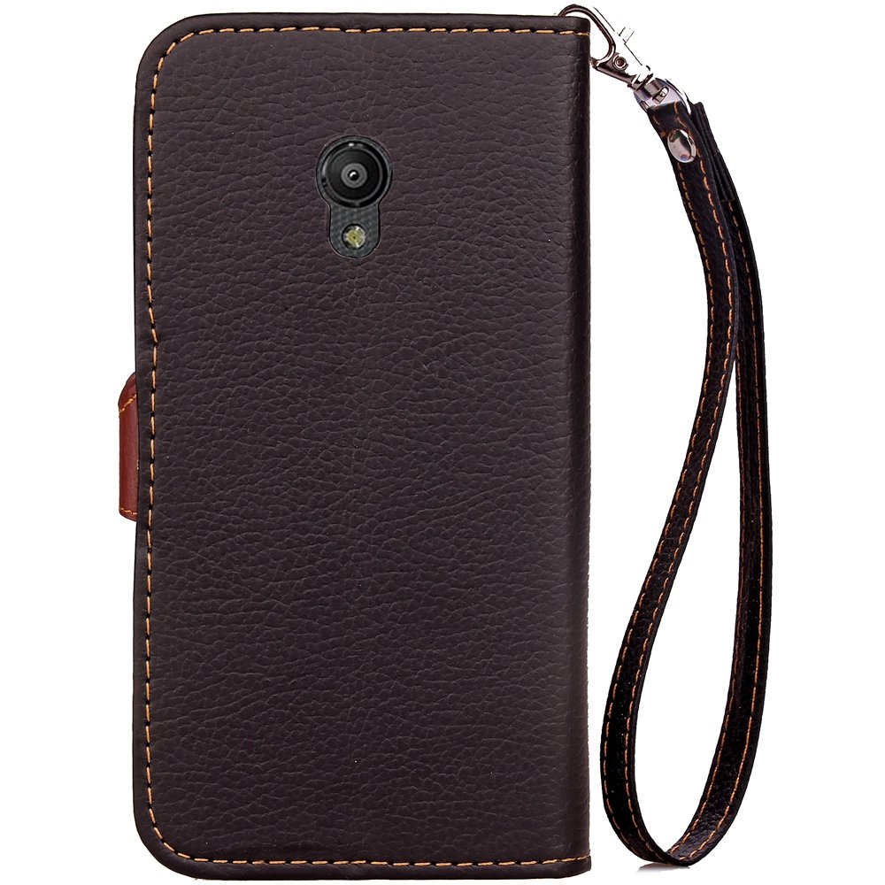 Amazon.com: Vodafone Smart Turbo 7 Cell Phone Cases PU Leather Wallet Case Flip Kickstand Function Ultra Folio Flip Slim Card Holder Case Cover Leather ...