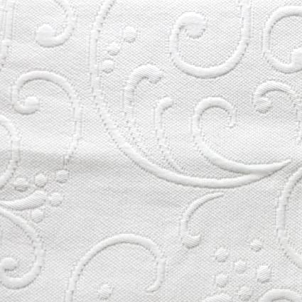 Superb Braga Matelasse Coverlet, Full/Queen, White