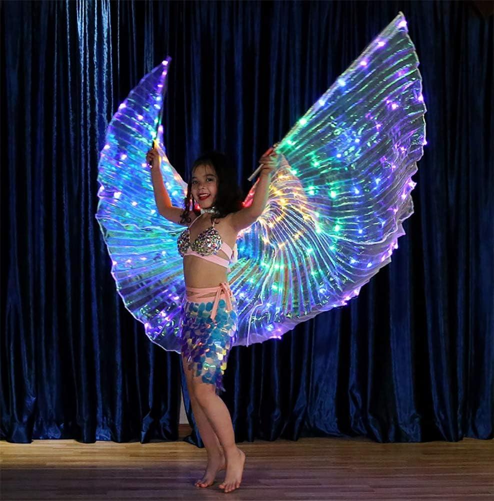 Danza del Vientre ISIS Wings para Chicas con Palos telescópicos ...