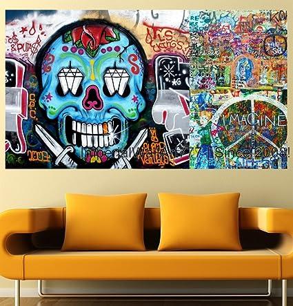 Amazon Com Imperialwallart777 Graffiti Wall Decal Photo Collage