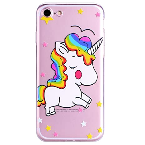 coque iphone 8 licorne silicone