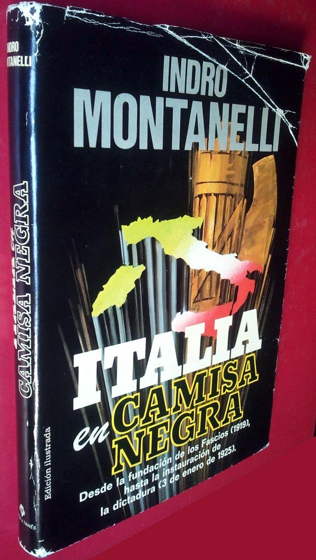 ITALIA EN CAMISA NEGRA. : MONTANELLI, Indro: Amazon.es: Libros