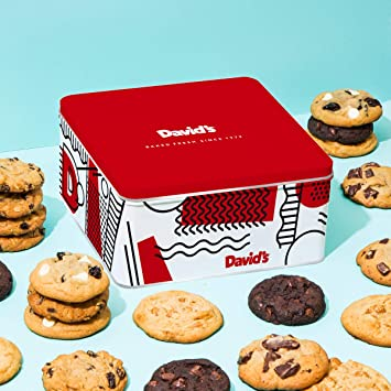 Amazon Com David S Cookies 24 Fresh Baked Assorted Cookies