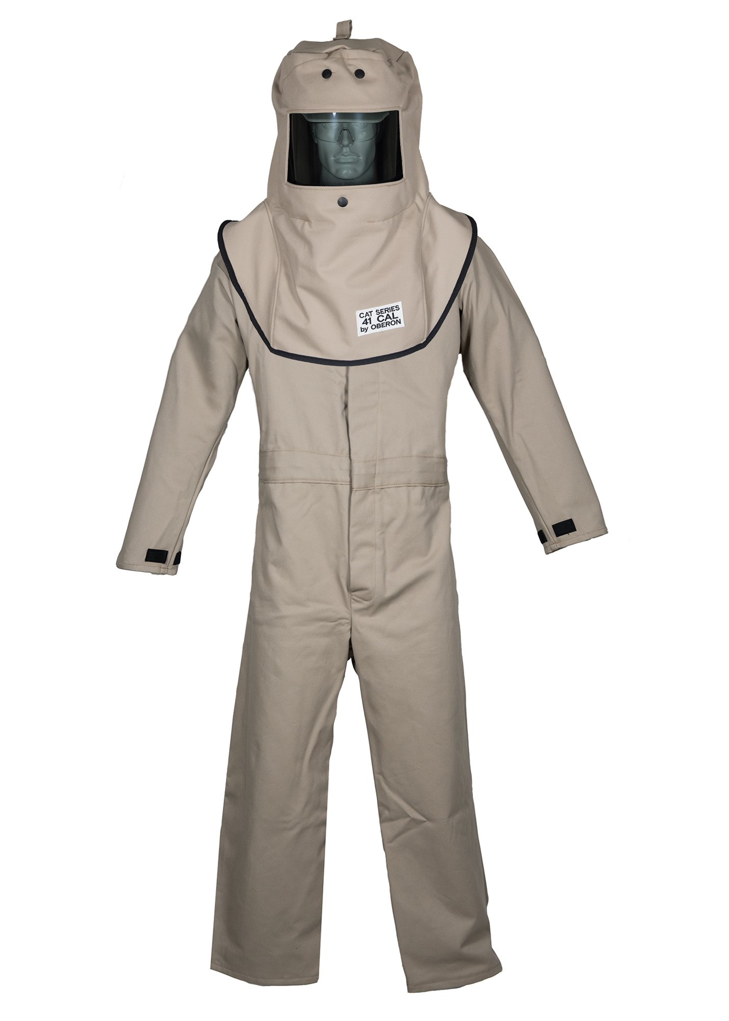 CAT4 Series Arc Flash Hood & Coverall Suit Set by Oberon Company (Image #1)