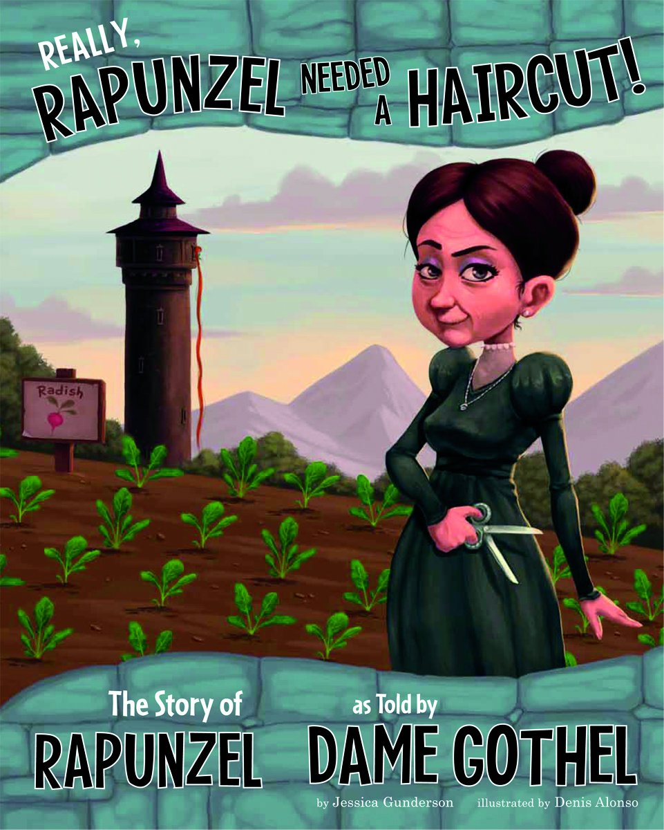 Really Rapunzel Needed Haircut Gothel product image