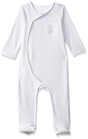 b89d49f69 Mothercare Baby Velour Stripe All in One Bodysuit  Amazon.co.uk ...