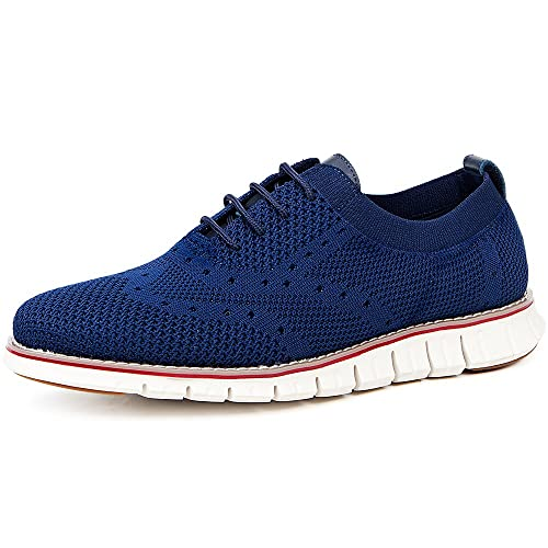 219adc254e6c3 LAOKS Men's Mesh Sneakers Wingtip Oxford Lightweight Breathable Walking  Shoes
