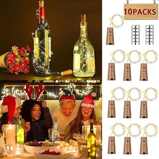 luz de botella,led corcho botella, Corcho Luces Led, Tapon Led, MMTX