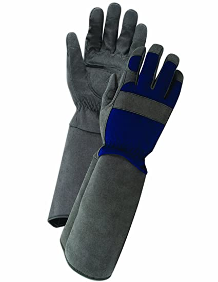 Delicieux Professional Rose Pruning Thornproof Gardening Gloves With Extra Long  Forearm Protection For Men (TE194T)