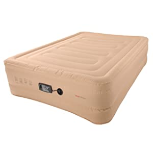 """SimplySleeper SS-58RF Raised 18"""" Full Air bed with Built-in Fully Automatic Electric Pump"""