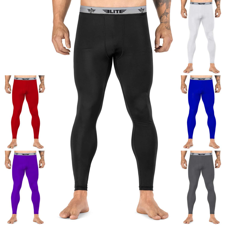 1c08013e1f7 Elite Sports Workout Standard MMA BJJ Spats Base Layer Compression Pants  Tights