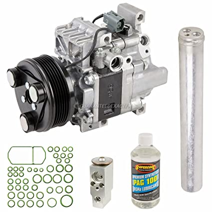 AC Compressor w/A/C Repair Kit For Mazda CX-7 2007 2008 2009 - BuyAutoParts  60-81771RK NEW