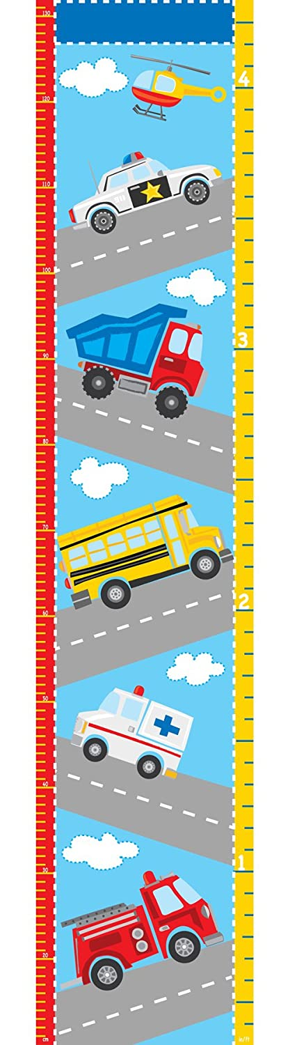 WallPops WPG0622 Transportation Growth Chart Wall Decals TEPEL BROTHERS PRINTING