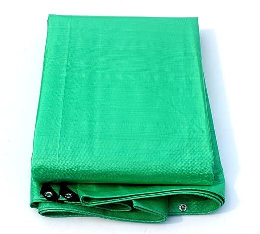 Impermeable Verde Fuerte Tela De Lona X 2,5 Mtrs