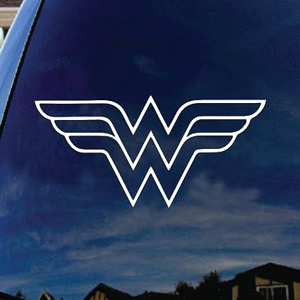 Amazon Crawford Graphix W Superhero Woman Symbol Car Truck