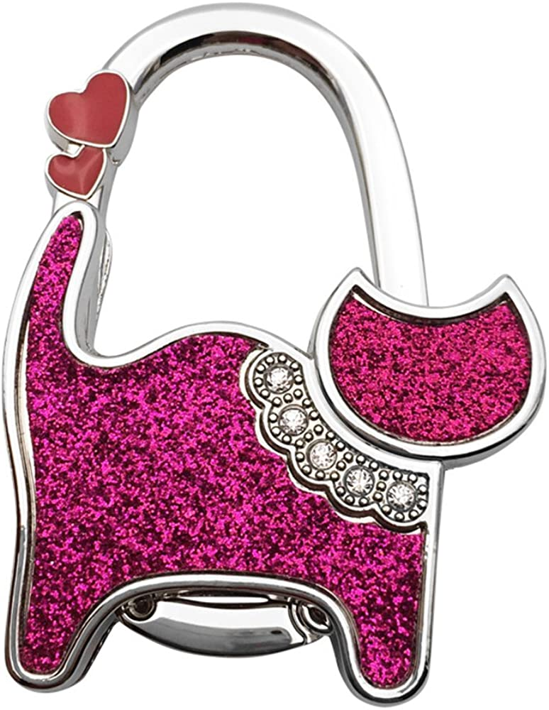 ZoCr Cat Style Premium Foldable Handbag Bag Purse Hanger Table Hook Holder