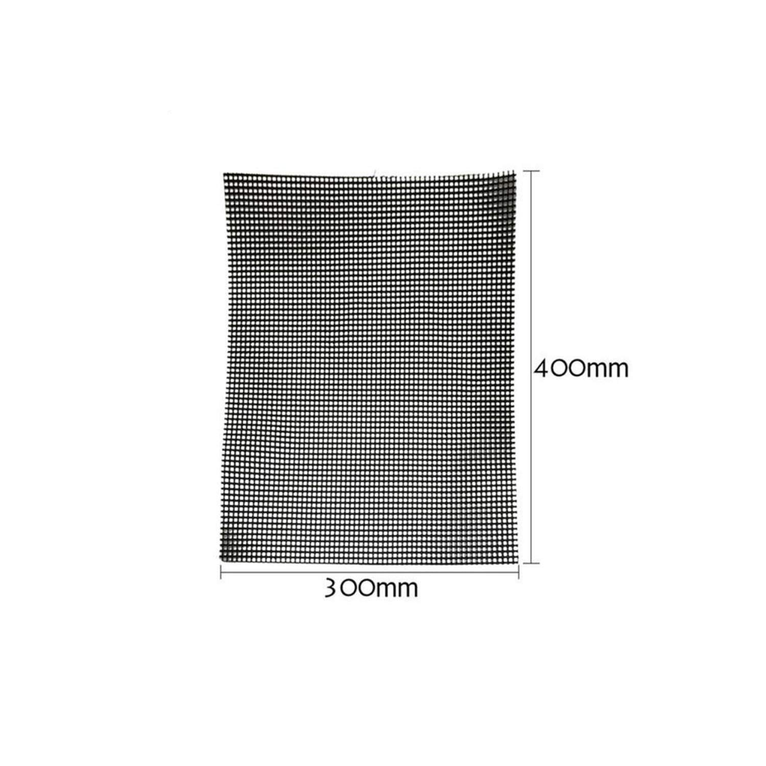 HuaHua-Store Metal Squares Holes Grill Mesh BBQ Barbecue Tool Nonstick Stainless Steel Grilling Wire Mesh Oven,M