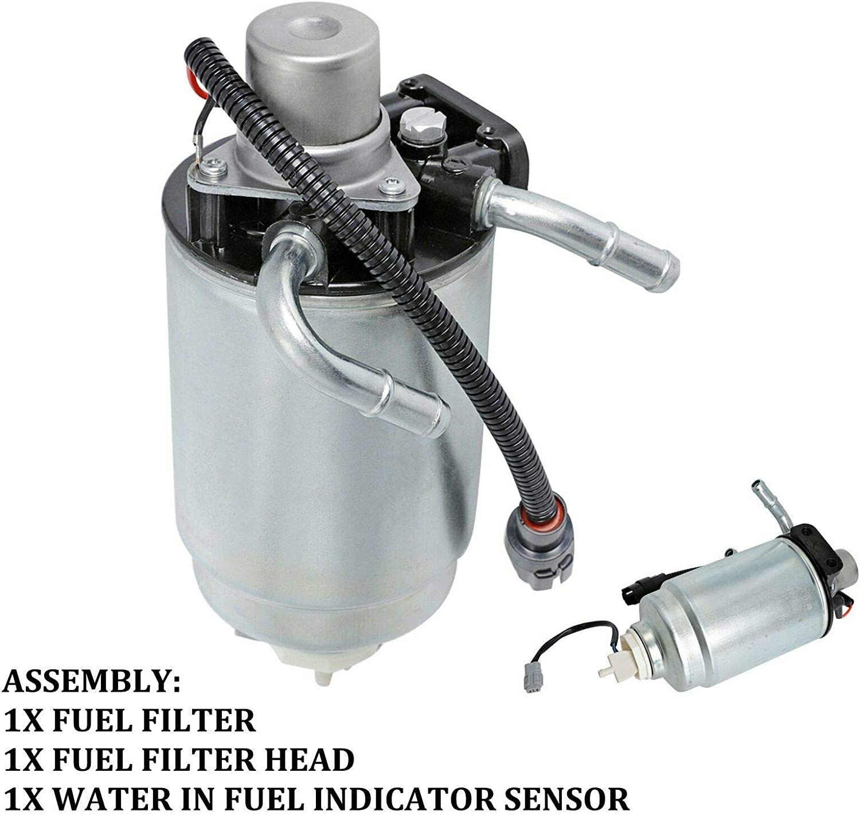 Amazon.com: 12642623 Fuel Filter Housing 6.6 Duramax Diesel Billet Aluminum Filter  Housing Replacement for 2005-2012 Silverado GMC Sierra 6.6L V8 Diesel  12639277 12664429: AutomotiveAmazon.com