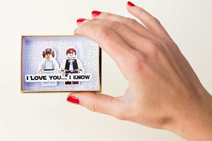 Amazon Com Valentines Card Star Wars Love Message Han Solo Leia