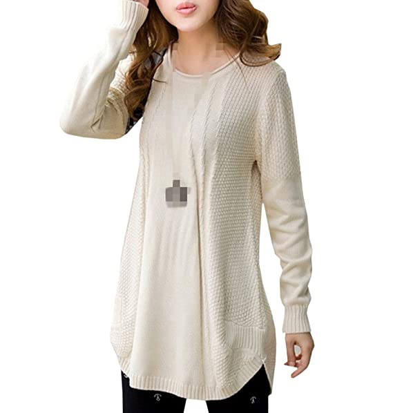 Amazon.com: bestal de la mujer Loose Knitting Crochet ...