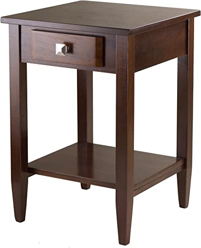Winsome Richmond End Table, Antique Walnut