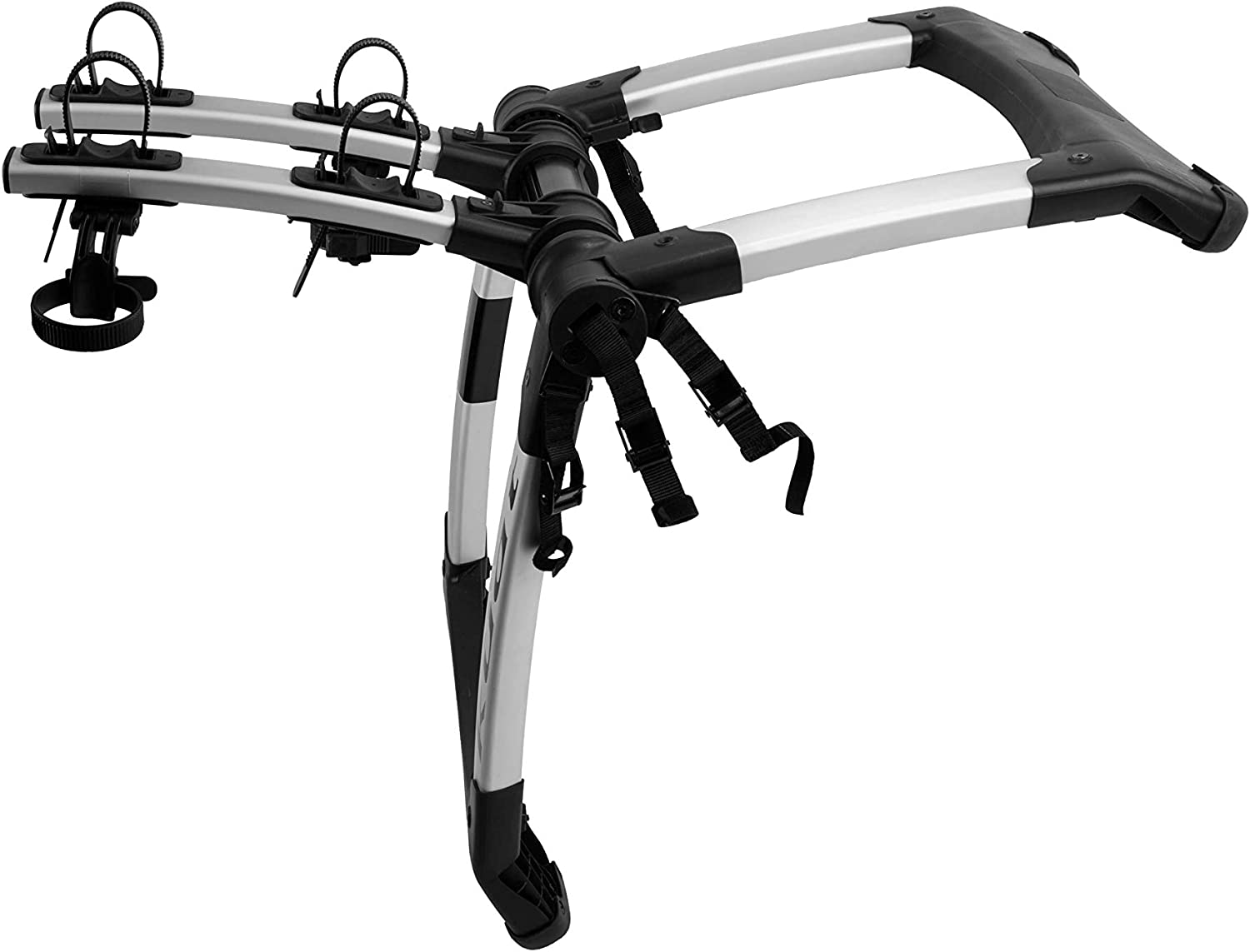B07G1C811C Kuat Highline 2 Bike Trunk Rack Silver, One Size 713i6ovCaZL