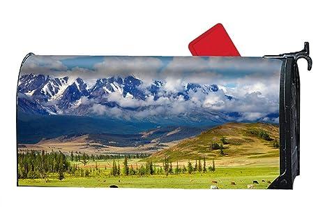 ba606145b735 Amazon.com  Verna Christopher Mountain Mailbox Makeover - Magnetic ...