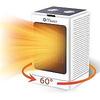 Moocii Calefactor Eléctrico PTC Calefactor de Aire Caliente con Ahorro de energía de Alta Tecnología y Oscilación…